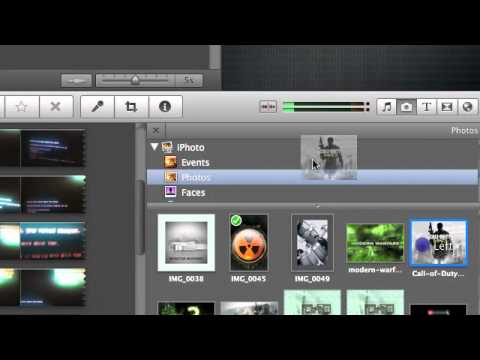 how to make an intro using imovie