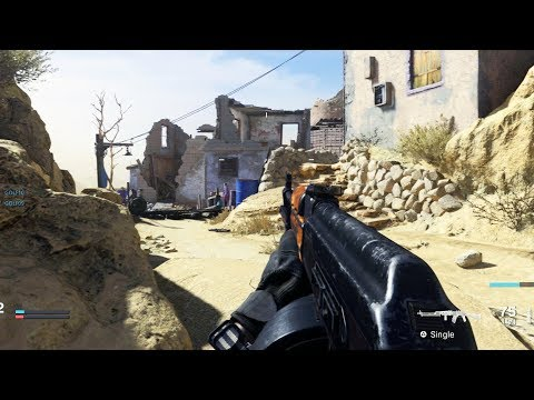 75 Minutes of Modern Warfare Multiplayer Gameplay (No Commentary)