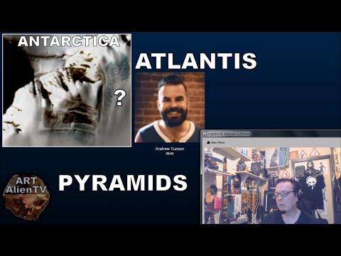 #ATLANTIS & THE PYRAMIDS of ANTARCTICA - RADIO SHOW - ArtAlienTV - 720p60