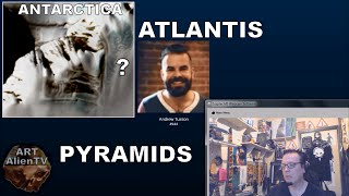 ATLANTIS &amp; THE PYRAMIDS of ANTARCTICA - RADIO SHOW - ArtAlienTV<