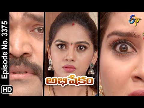 Abhishekam | 8th November 2019 | Full Episode No 3375 | ETV Telugu