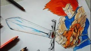 Dibujo de Leon-O: ThunderCats/ Drawing Lion-O: ThunderCats