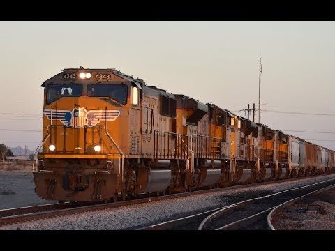 Desert Railfanning: Union Pacific in Niland, CA