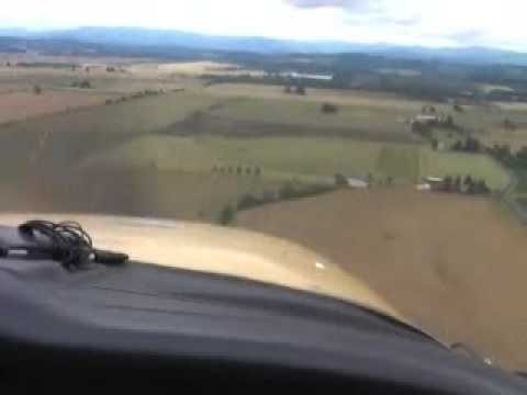 Landing at Independance State Airport