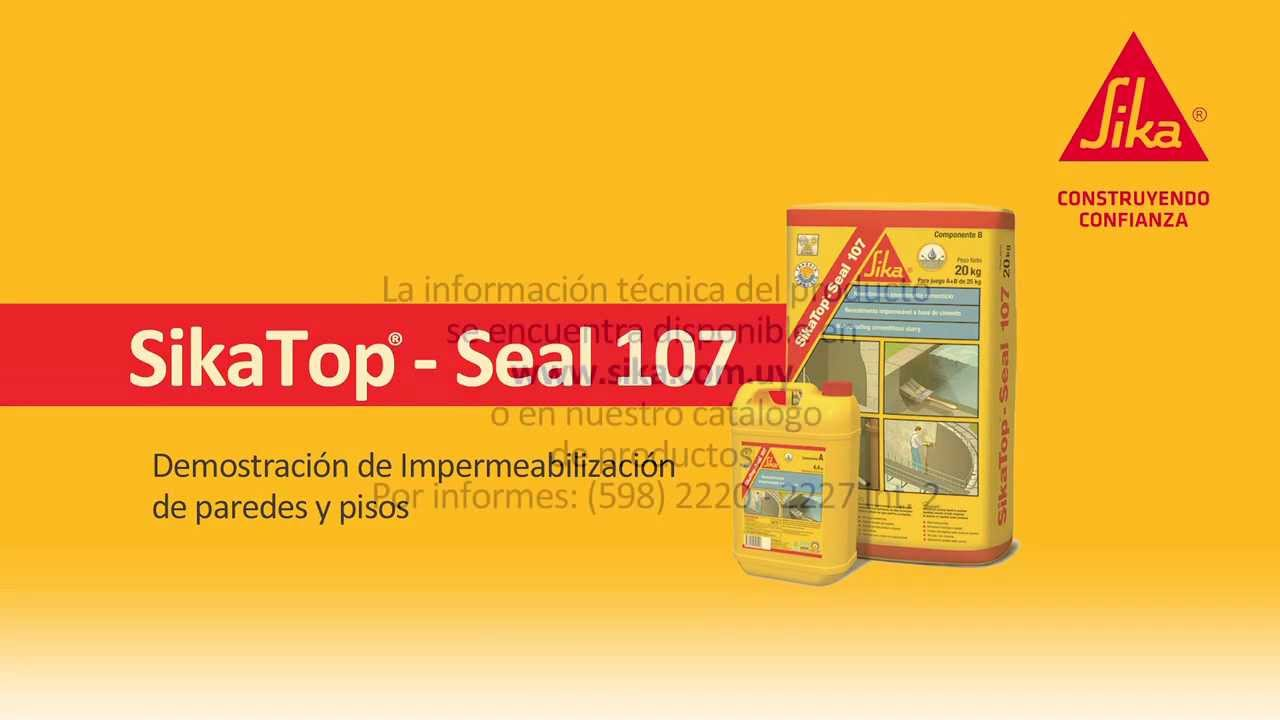 sikatop seal 107 youtube
