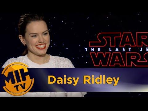 Daisy Ridley Star Wars: The Last Jedi Interview