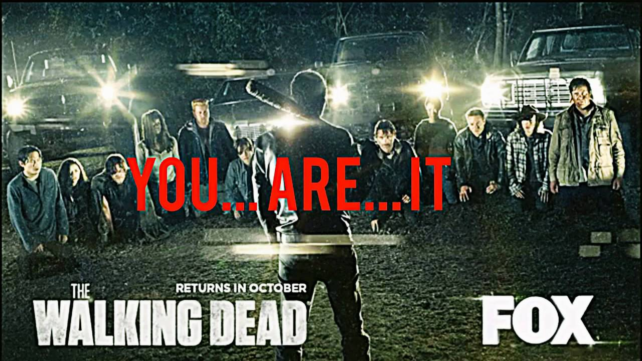 Bildergebnis für the walking dead season 7 poster