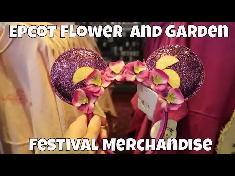 Epcot Flower and Garden Festival Merchandise 2019 - Walt Disney World