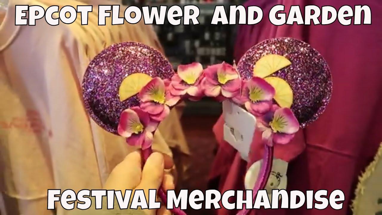 epcot flower and garden festival merchandise 2019 - walt disney world