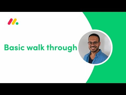 monday.com Webinar: Basic walk through