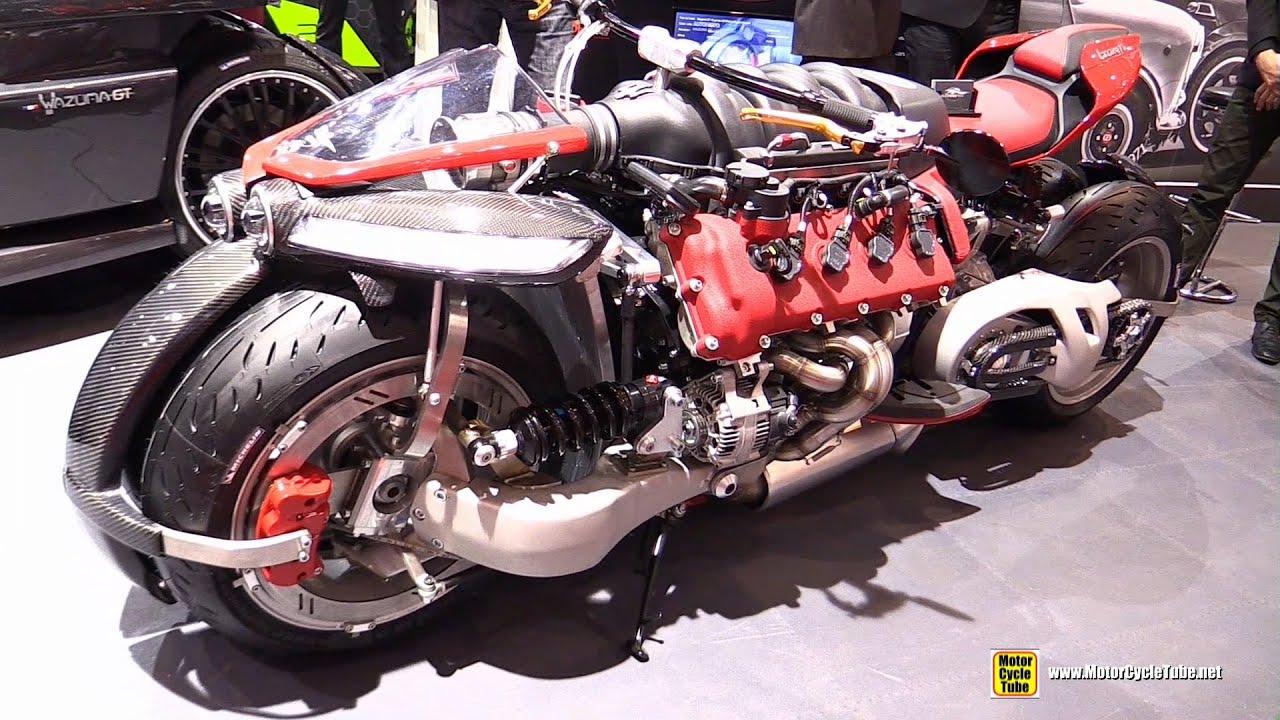 2016 Lazareth Lm847 4 Wheels Bike With Maserati V8 Engine Walkaround 2016 Geneva Motor Show