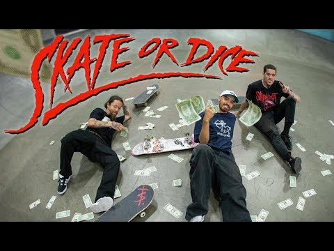 The Brazilians Try To Take All Of Our Money | Skate Or Dice!