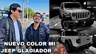 REGRESO EL CHIQUETE | CAMBIO DE COLOR MI JEEP GLADIADOR |