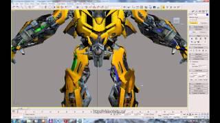 Моделирование трансформеров в 3Ds Max