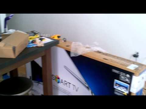 55 inch Samsung television installation Smart TV Manhattan Midtown NYC 1