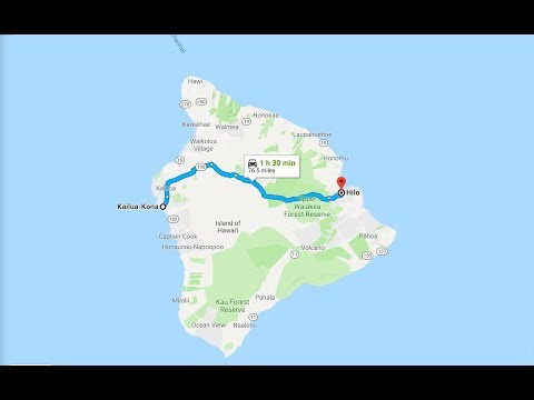 From Kona To Hilo Big Island Drive