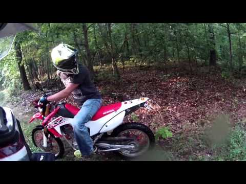 Busted on the Honda CRF250L'S
