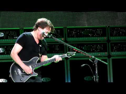 Eddie Van Halen's Complete Guitar solo close up -14th row center. Staples Center 6-1-12.mov