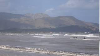 Pollensa Bay after the storm kite spot Mallorca edmkpollensa com kiteschool 2016