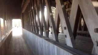 Zehnder's Holz Brucke (german For Wooden Bridge), Frankenmuth, Michigan