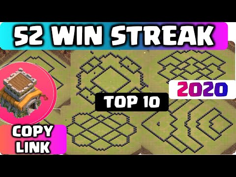 LEGEND TH8 WAR BASE With COPY LINK 2020!! Unbeatable And BEST COC TH8 BASE Anti 2 Star & 3 Star