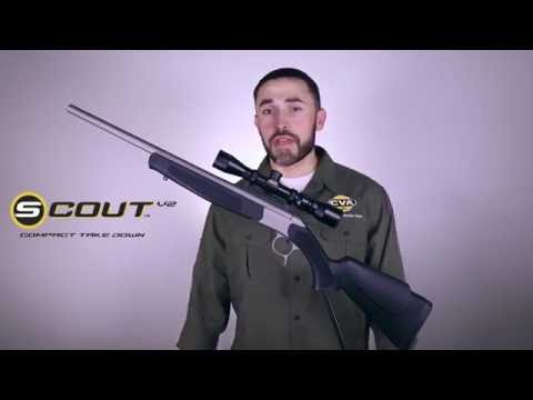 CVA Scout Compact Take-Down Rifle - Quick Overview