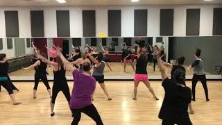 DG2Adult jazz fusion class. Hot Latin Moves!