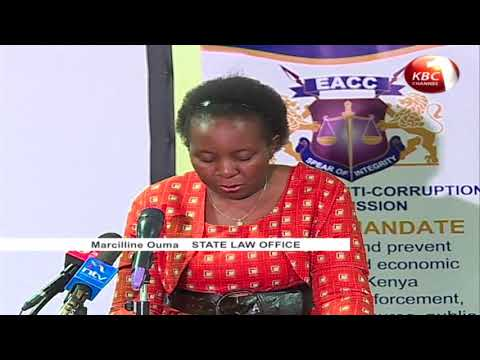 Murang'a is the most corrupt county, reveals EACC report