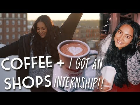 Trendy Coffee Shops at UGA & I Got An Internship! | VLOGMAS 10, 11, 12 & 13