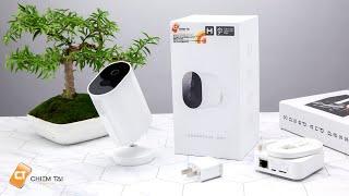 Camera IP Ngoài Trời Không Dây Hoàn Toàn Cực Đỉnh Đến Xiaomi , Pin 100 ngày , Tích Hợp Trợ Lý Ảo!