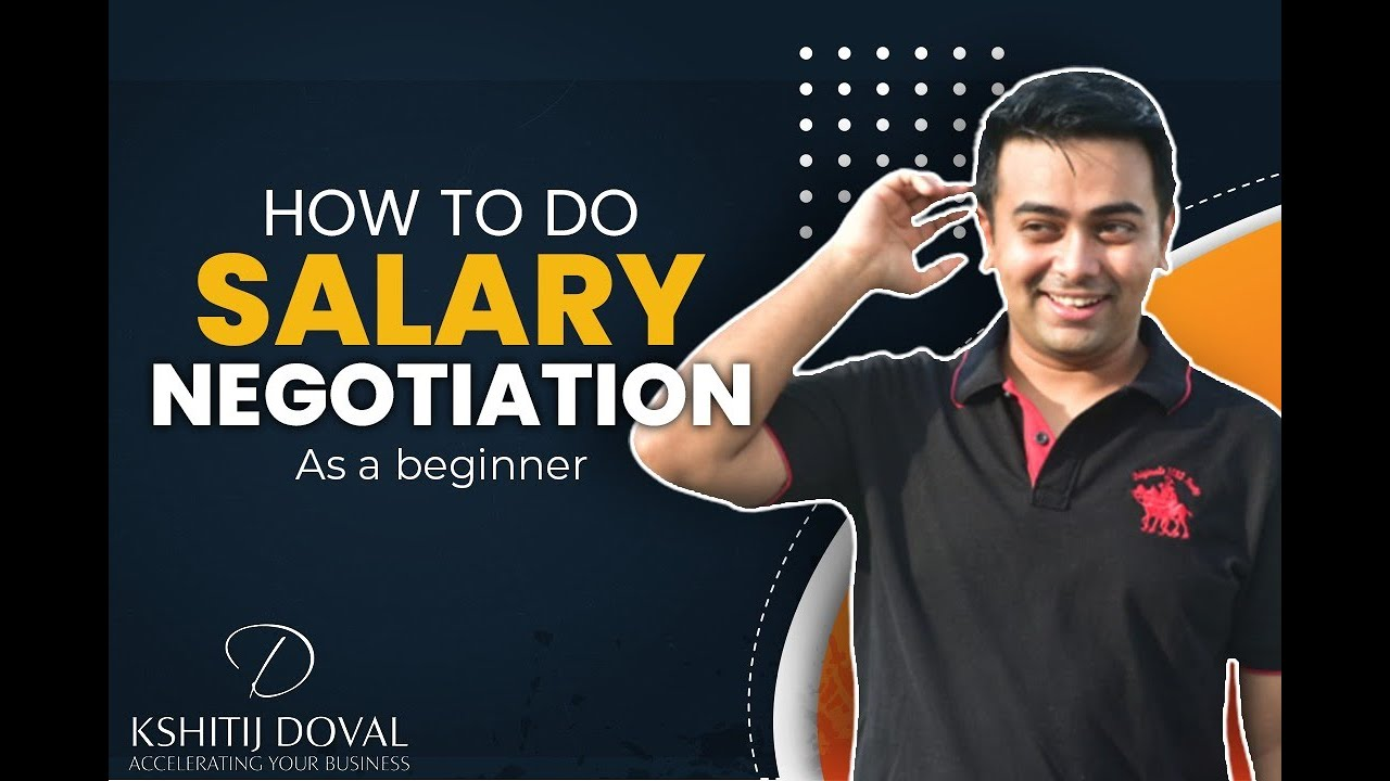 Salary Negotiation - You Deserve that Pay-Cheque!