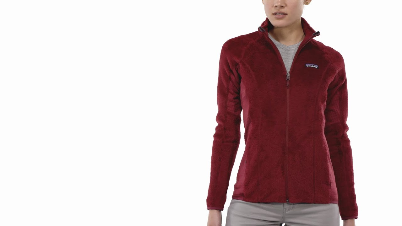 2577b7c95 Patagonia Women's R2® Fleece Jacket - YouTube