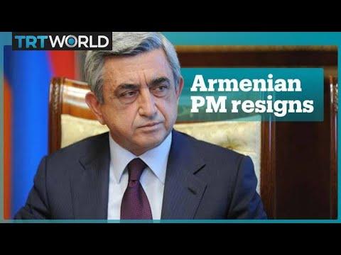 Armenian PM Serzh Sargsyan Resigns