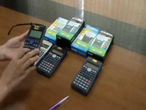 Casio fx-500MS, fx-500VN PLUS, fx-570ES PLUS, fx-570MS