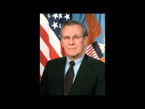 Donald Rumsfeld     Press Conference on 9.11.