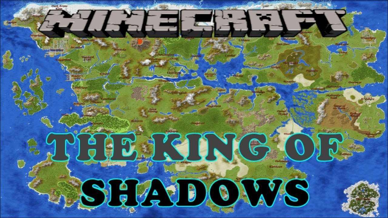 Start of A Huge Adventure - The King of Shadows - Minecraft Adventure on