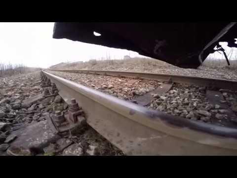 GoPro - Нижний вид перегонa Клоога-Пальдиски / GoPro - Low view of Klooga-Paldiski open line