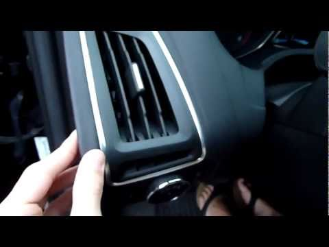 2012 Ford Focus interior build quality and materials