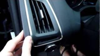 2012 Ford Focus interior build quality a...