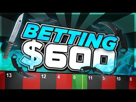 CSGO: BETTING $600 ON CSGOATSE!