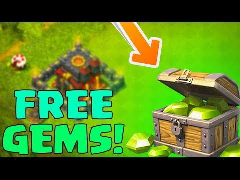 Getting FREE GEMS In Clash of Clans - YOU Can Get Some Too (Easy)