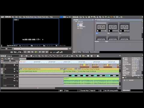 Easy Editing with Edius 6.0 - Lesson 5: Editing Styles and Modes ...