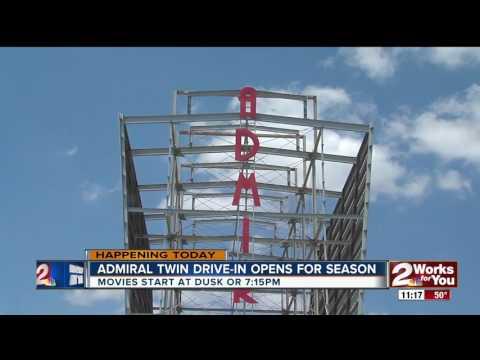 Admiral Twin DriveIn opens for season tonight