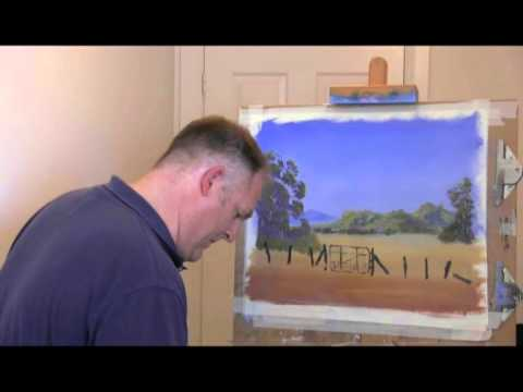 Wet On Wet Oil Painting Lessons – Old Gate – Part 3 (Wet On Wet Oil Painting Lessons)