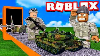 I made 9999 SOLDIERS and built the LARGEST ARMY in the WORLD.. (Roblox)