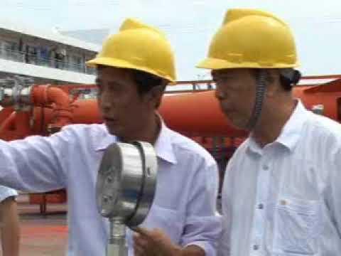 Chinese Marine loading
