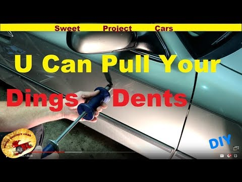 HOW TO: Remove Simple Door DINGS & DENTS for DIY'ers