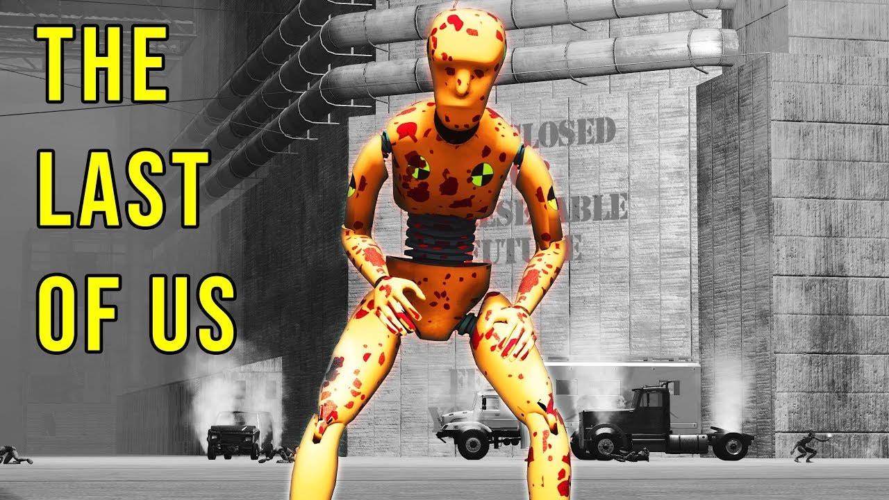 Crash Test Zombies – The Last of Us – BeamNG Drive Movie | Demolition Republic