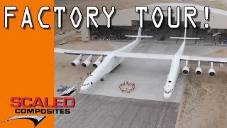 Tour of Scaled Composites - Aerospace Factory!