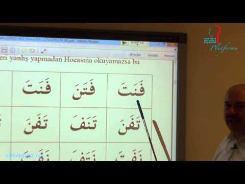 10 Saatte Kur'an Öğreniyorum (1. Ders)
